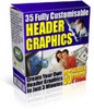 Thumbnail 35 Header Graphics Package With Master Resale Rights