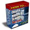 Thumbnail 30 Minute Minisite With Master Resale Rights