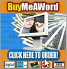 Thumbnail BuyMeAWord Software With Master Resale Rights