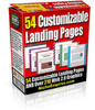 Thumbnail Clean Landing Page Templates with PLR