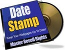 Thumbnail Date Stamp dsp With Master Resale Rights