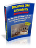Decorate Like A Celebrity (ebook + website) With MRR