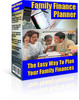 Thumbnail Family Finance Planner With Master Resale Rights