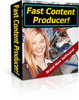 Thumbnail Fast Content Producer With Master Resale Rights