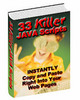Thumbnail 33 killer java Scripts With Master Resale Rights