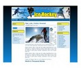 Thumbnail Ice Hockey Templates - PLR With Site