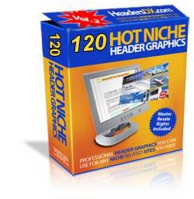Product picture 120 Hot niche headers Graphics With Private Label Right