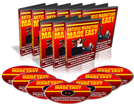 Product picture Article Marketing Made Easy With Master Resale Rights