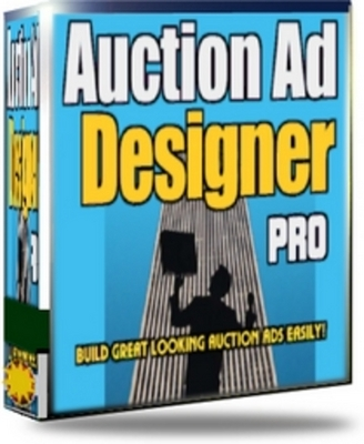 Product picture Auction Ad Designer PRO (software + ebook) With MRR
