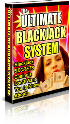 Product picture The Ultimate Blackjack System Secrets Casinos  With PLR