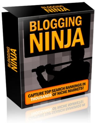 Product picture Blogging Ninja (script + ebook) With MRR