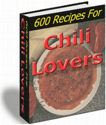 Product picture 600 Recipes for Chili lovers With Master Resale Rights