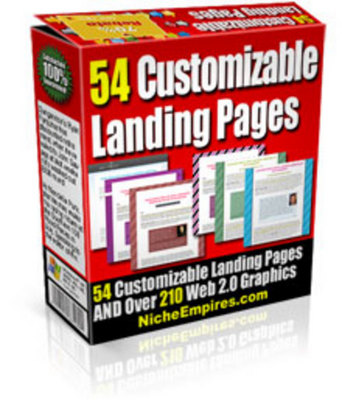 Product picture Clean Landing Page Templates with PLR