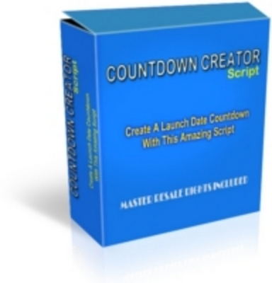 Product picture Count down Creator Scripts (html + php + guide) With MRR