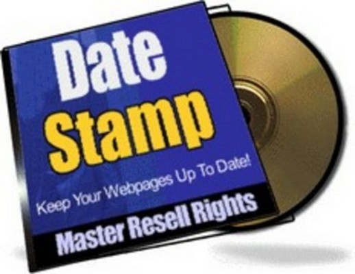Product picture Date Stamp dsp With Master Resale Rights