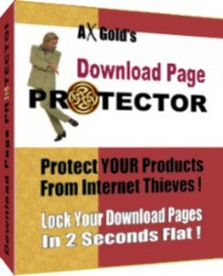 Product picture Download Page Protector With Master Resale Rights