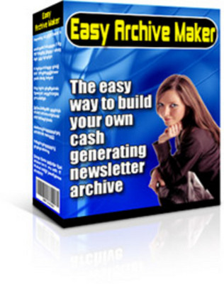 Product picture Easy Archive Maker With Master Resale Rights