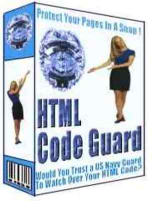 Product picture HTML Code Guard With Master Resale Rights