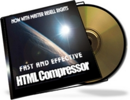 Product picture HTML Compressor With Master Resale Rights