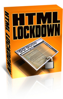 Product picture HTML Lock Down With Master Resale Rights