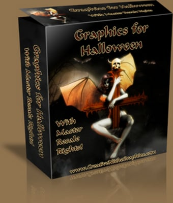 Product picture Graphics for Halloween With Master Resale Rights