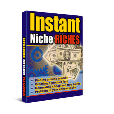 Product picture Instant Niche Riches With Master Resale Rights