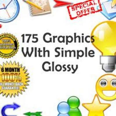 Product picture 175 Graphics Package with Master Resale Rights
