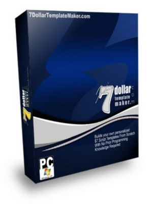 Product picture 7$ Dollar Template Maker with MRR