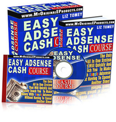 Product picture Easy Adsense Cash Course with MRR