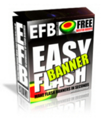 Product picture Easy Flash Banner Make Flash Banners In Seconds With MRR