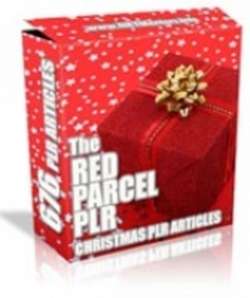 Product picture The Red Parcel - 676 PLR Articles With Site